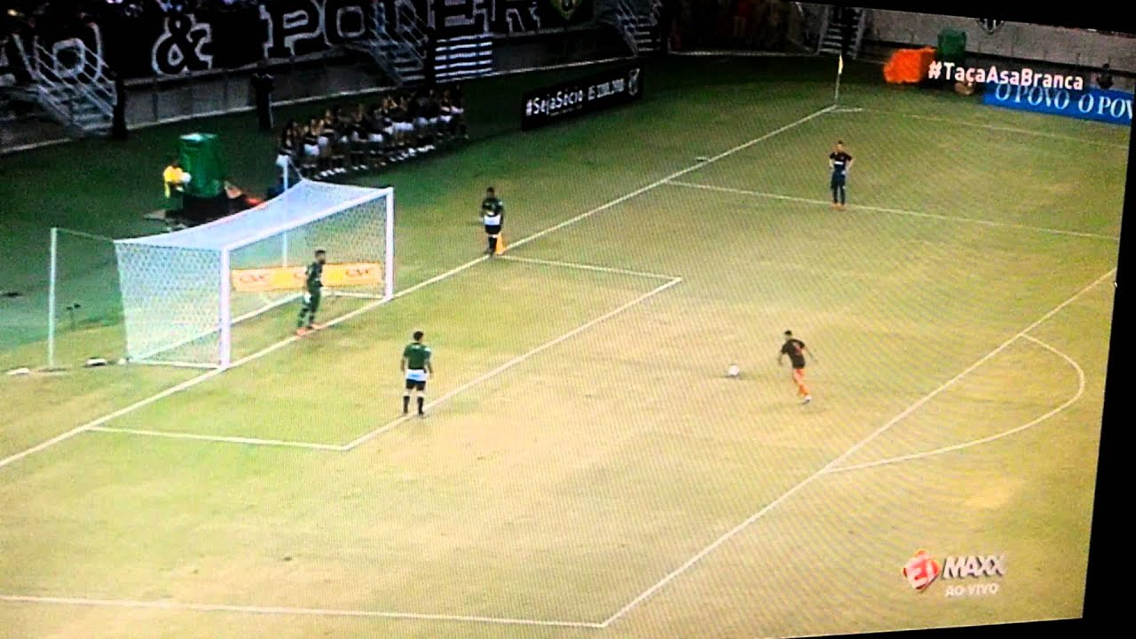 Guerrero perde pênalti no fim do jogo. Ceará é Flamengo - YouTube caa6a52affaaa