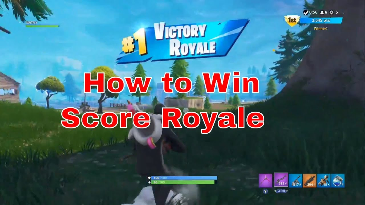 how to win fortnite battle royale