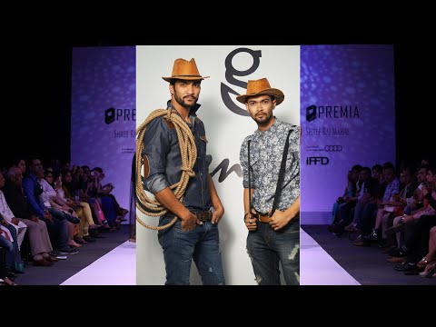 Greenland show 2016 Cowboy collection,- Denim collection
