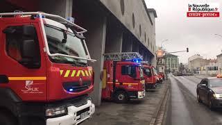 VIDÉO Poitiers : mouvement de protestation des pompiers