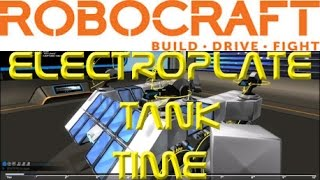 ROBOCRAFT :  Electroplate Tank Time