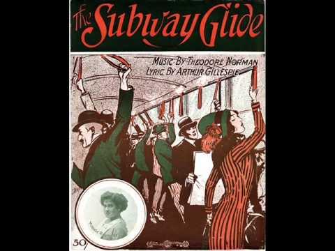 Walter Van Brunt - The Subway Glide 1912 NYC Subway