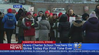 Acero Charter Schools Teachers On Strike