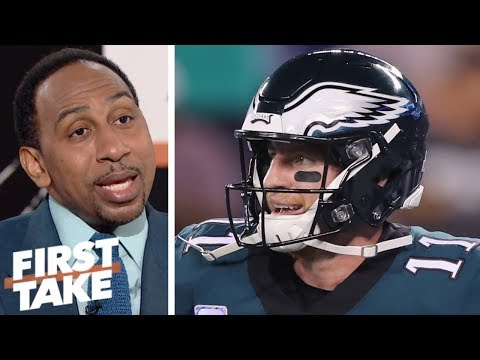 Stephen A.: Eagles win over pathetic Giants gives no evidence they are back | First Take