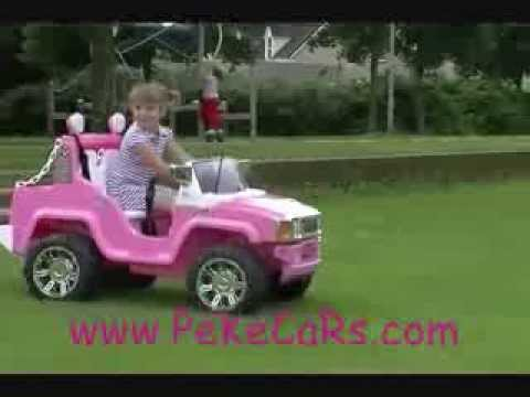 Coche Electrico Para Ni 241 As Pekecars Hummer Youtube