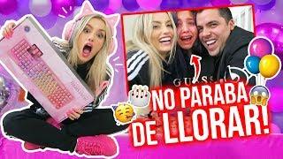 INCREIBLE_REGALO_SORPRESA_PARA_LEYLA!😱_NO_PARÓ_DE_LLORAR!!!🙊🎁_ _Katie_Angel