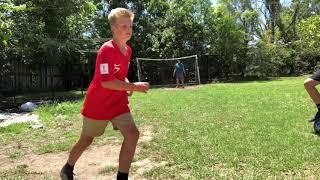 Crazy forfeit soccer challenge