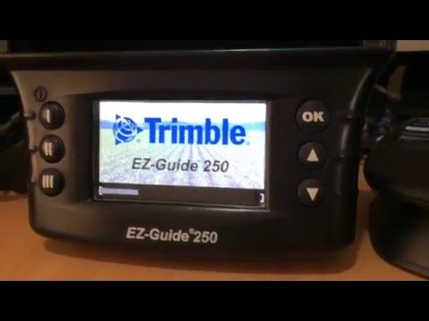 Resetting a Trimble EZ Guide 250