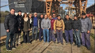 Precandidatos de Unidad Ciudadana visitaron el Astillero Río Santiago