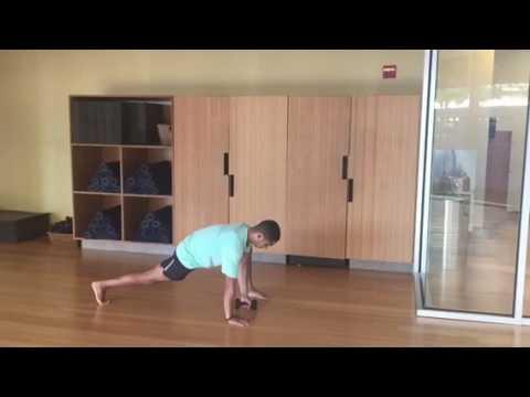Low lunge twist variations