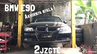 Bangun Mobil Drift BMW E90 Eps.2 AKHIRNYA NYALA