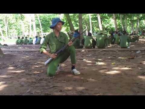 Đứng bắn, quỳ bắn, nằm bắn bằng súng CKC
