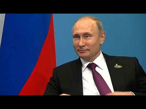 President Vladimir Putin sends New Year's messages to world leaders