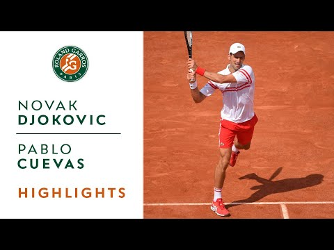 Novak Djokovic vs Pablo Cuevas - Round 2 Highlights I Roland-Garros 2021