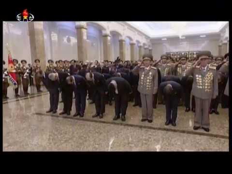 Kim Jong Un Visits Kumsusan Palace of Sun