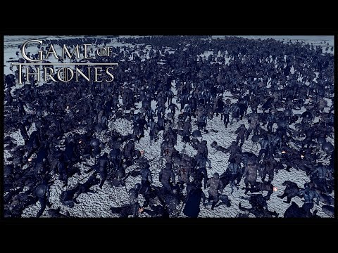 White Walker Invasion Of Westeros - Seven Kingdoms Total War