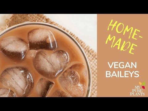 Easy Vegan Baileys Irish Cream Recipe (Gluten-free, Dairy-free) | My Pure Plants
