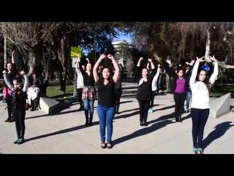 Flashmob Bienal de Sevilla 2016 - Punta Arenas - Patagonia chilena