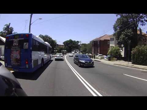 Cahill Expressway, Harbour Bridge, Watson Bay, Old South Head Road Motorcycling, Sydney Australia