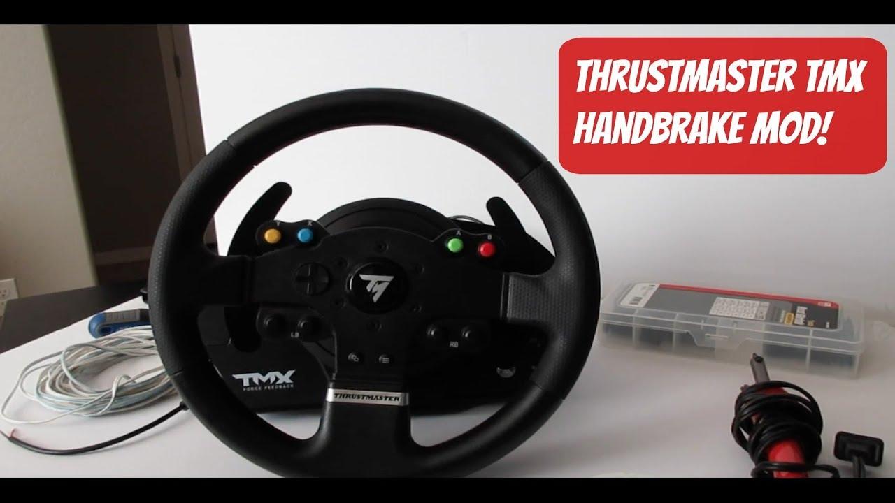 Thrustmaster TMX Handbrake MOD