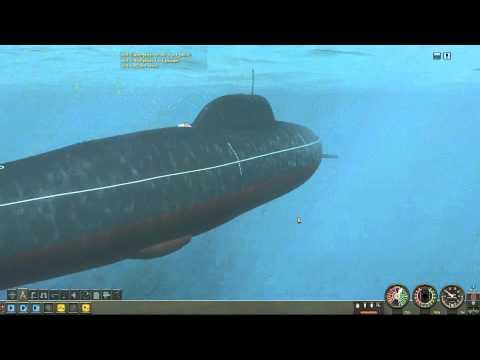Alfa Class Submarine VS Cruisers 1/3