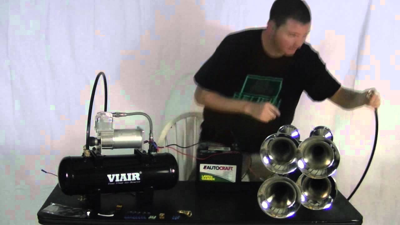 hooking up a train horn kit youtube rh youtube com