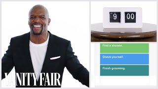 Terry Crews tells us everything he does in a day. Watch Terry Crews...