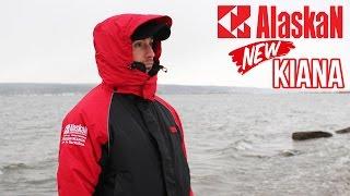 Обзор обновлённого костюма для зимней рыбалки ALASKAN KIANA. Kamfish