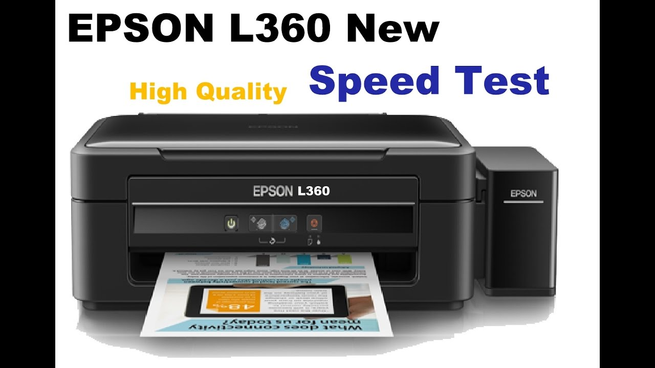 New Epson L360 high quality printing test, bought from snapdeal at ...