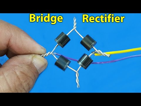 "Rectifier ""Half-Wave/Full-Wave/Full-wave Bridge"""