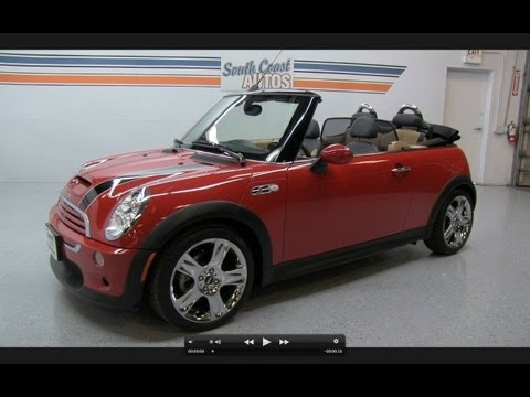 2006 Mini Cooper S Convertible Start Up, Exhaust, and In Depth Review