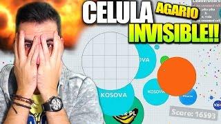 CELULA INVISIBLE + SUPER JUGADA!! | AGARIO | +15000 PUNTOS | Rubinho vlc | Agar.io Invisible Skin