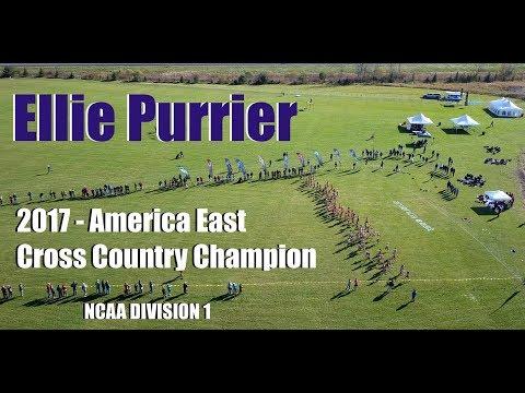 2017 America East XC Champion - Ellie Purrier
