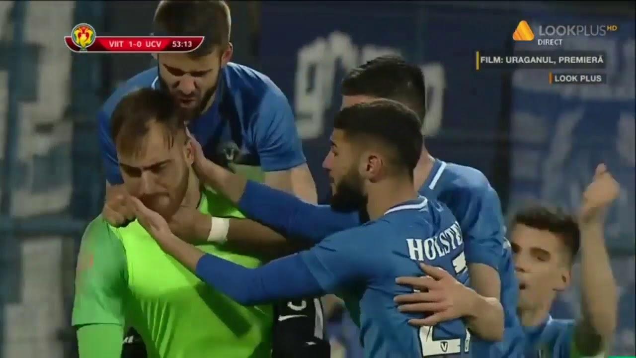Rezumat: FC Viitorul - U Craiova 2-0 Semifinala Cupa Romaniei 2018-2019