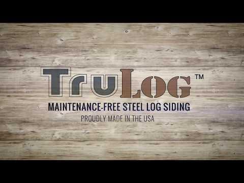 Steel Log Siding - TruLog's New Colorado Pine Color