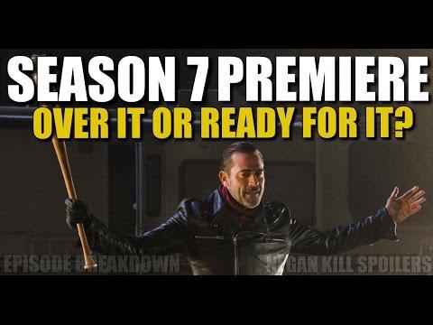 The Walking Dead Season 7 Premiere Discussion Negan Kill Spoilers & Discussion & Episode Information