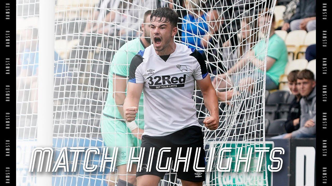 MATCH HIGHLIGHTS   Notts County v Derby County
