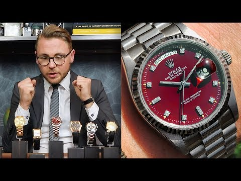 Rolex Day-Date 18238 Fossil dial, Rolex Daytona 6263 'Big Red' And More! - This Week's Watches #29