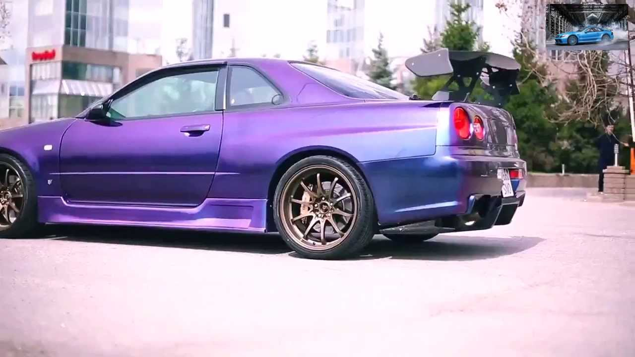 Презентация Nissan Skyline Gt R R34 Youtube