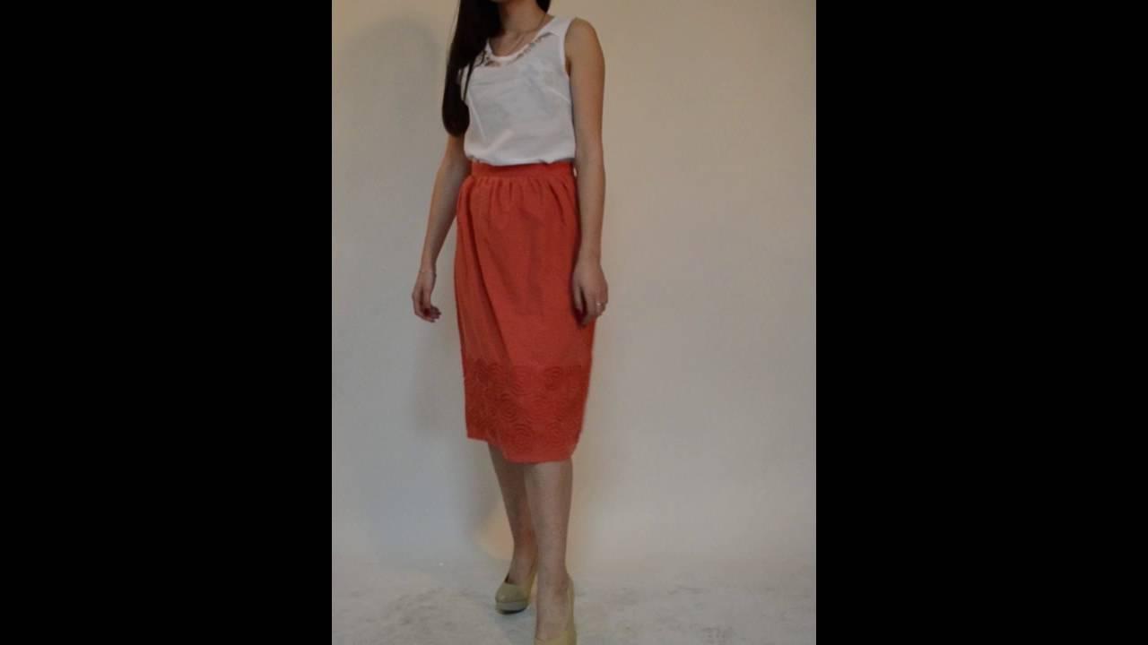 Юбочный костюм Rosheli 426 - YouTube