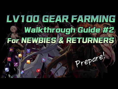 [DFO] Complete LV100 Gear Farming Guide for Newbies & Returners!