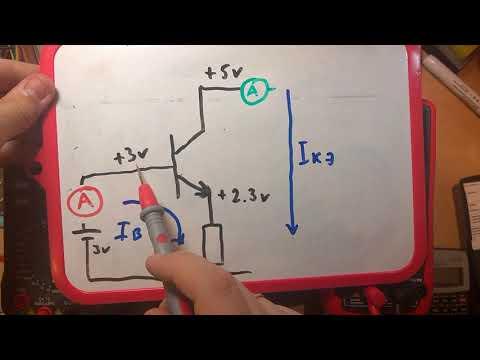 Транзистор в ключевом режиме. Схема с общим коллектором (Эмиттерный повторитель)
