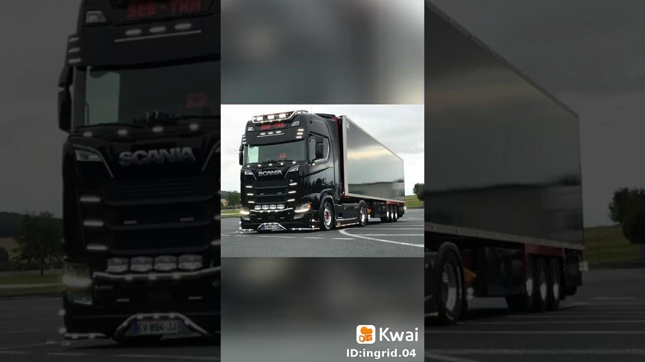 Os melhores caminhões scania