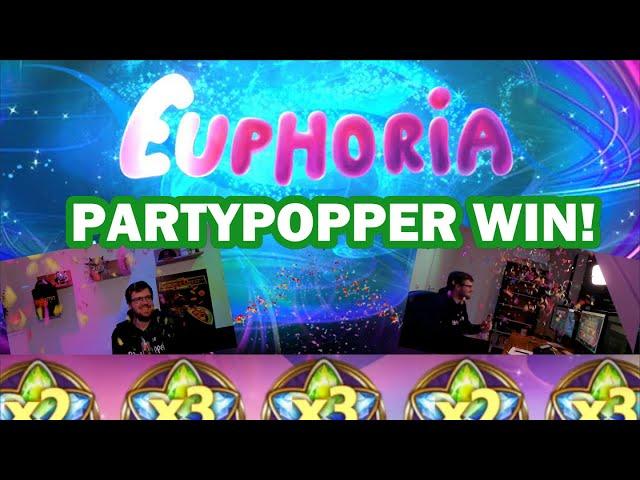 🎉 Confetti Canon win on Euphoria!
