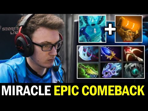MIRACLE Epic Comeback vs GORGC — Imba Damage with ES Morph Combo