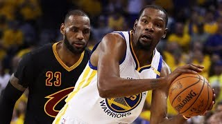 Kevin Durant Gets Under Lebron James' Skin | NBA Countdown | ESPN