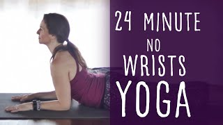 Video 24 Minute Vinyasa Yoga No Wrist Pressure Required with Fightmaster Yoga download MP3, 3GP, MP4, WEBM, AVI, FLV Maret 2018