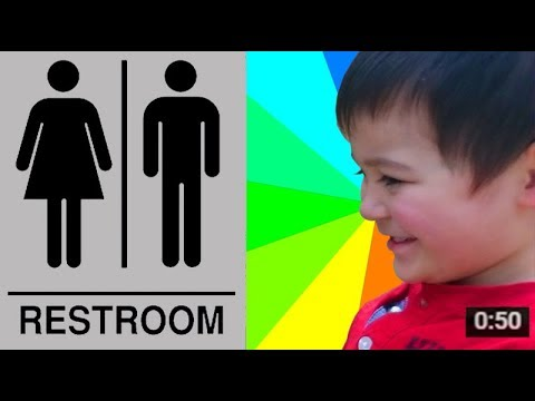 How To Start Kids Public Toilet Restroom Training with Success