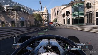 F1 2018 - Circuit de Monaco (Monaco GP) - Gameplay (PC HD) [1080p60FPS]