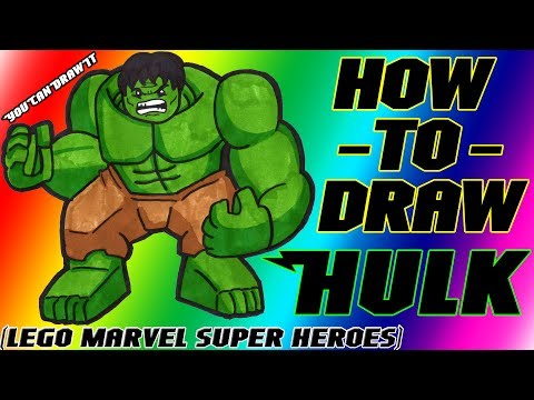 how to draw marvel superheroes
